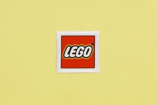 LEGO šolski nahrbtnik Tribini JOY, pastelno rumen