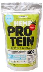 Zelená Země Konopný protein 500g - kokos a ananasem