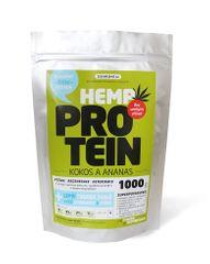 Zelená Země Konopný protein 1kg - kokos a ananas