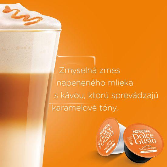 NESCAFÉ Dolce Gusto® kávové kapsule Caramel Macchiato 3balenie