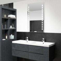 shumee LED-es fürdőszobai falitükör 60 x 100 cm