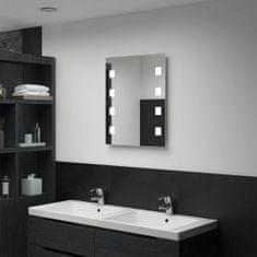 shumee Kúpeľňové LED nástenné zrkadlo 50x60 cm