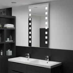 shumee Kúpeľňové LED nástenné zrkadlo 60x100 cm
