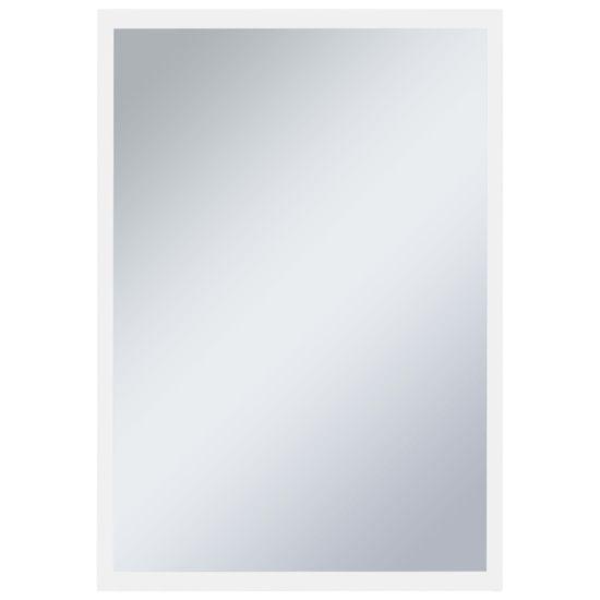shumee Kopalniško LED stensko ogledalo 60x80 cm