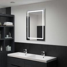 shumee Kúpeľňové LED zrkadlo s dotykovým snímačom 60x80 cm
