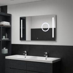 shumee Kopalniško LED stensko ogledalo s senzorjem na dotik 100x60 cm