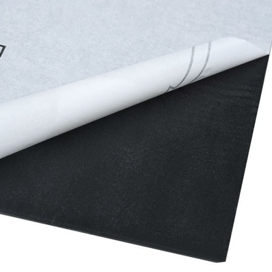 shumee Samolepilne talne plošče 5,11 m² PVC sive
