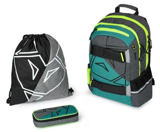 Karton P+P šolski komplet z nahrbtnikom OXY Sport Fox
