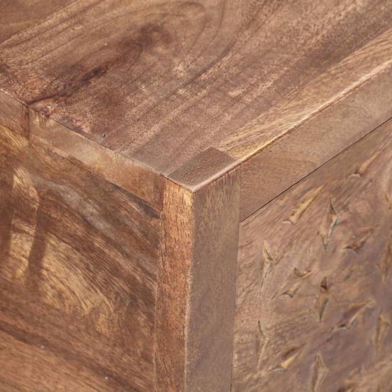 shumee Klubska mizica 90x45x40 cm trden mangov les