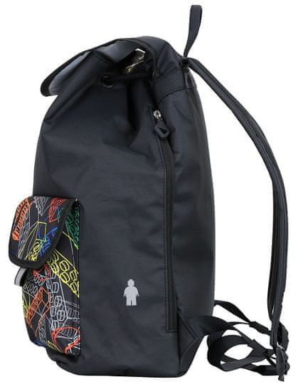 LEGO školski ruksak HAPPY, multicolor
