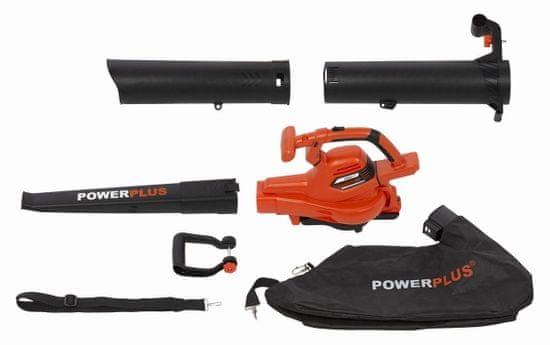 PowerPlus POWDPG7527 - AKU vysavač/foukač 40V LI-ION (bez baterie)
