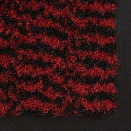 shumee Protiprašni predpražniki 2 x pravokotni taftani 40x60 cm rdeči