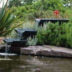 shumee Ubbink vrtna fontana iz treh lupin 35/45/55 cm s črpalko