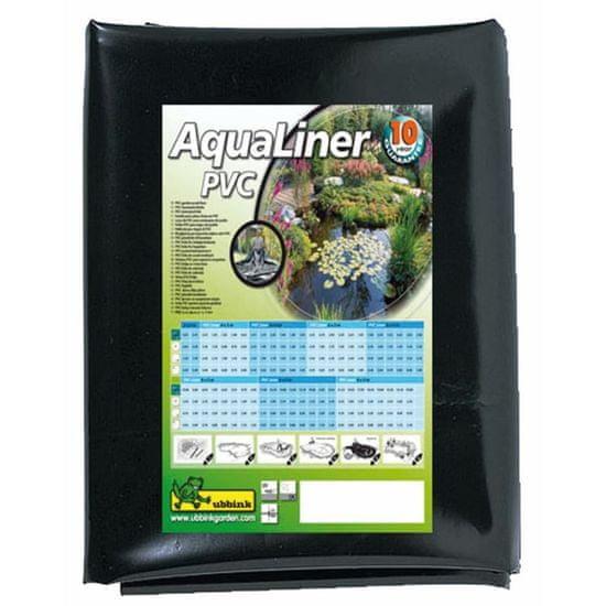 shumee Ubbink AquaLiner wykładzina PCV do oczek wodnych, 6 x 4 m czarna