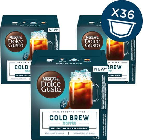 NESCAFÉ Dolce Gusto® kávové kapsule Cold Brew 3balenie