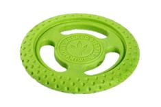 KIWI WALKER Létací a plovací frisbee z TPR pěny zelená, 22 cm