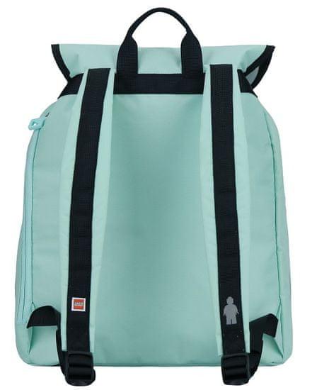 LEGO školski ruksak Tribini HAPPY, mentol-zelena
