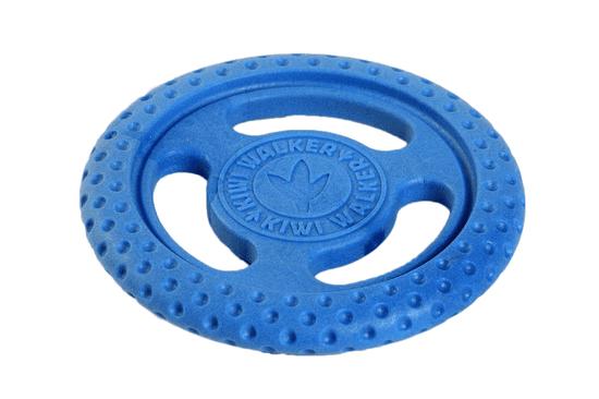 KIWI WALKER Lietacie a plávacie frisbee z TPR peny, modrá, 22 cm