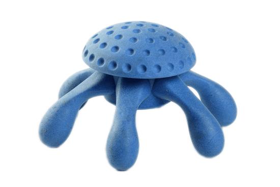 KIWI WALKER Plovací chobotnice z TPR pěny modrá, 20 cm