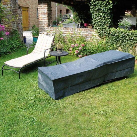 shumee Nature Plachta na zahradní nábytek pro polohovací křesla 250x78x40 cm
