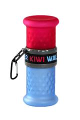 KIWI WALKER Cestovná fľaša 2in1, ružová / modrá