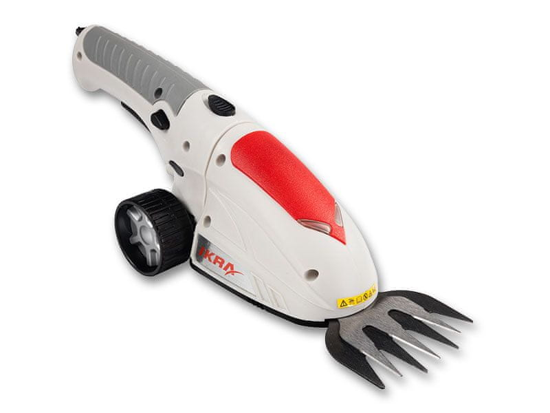 IKRA Aku nůžky na trávu GBS 3,6 Li - rozbaleno