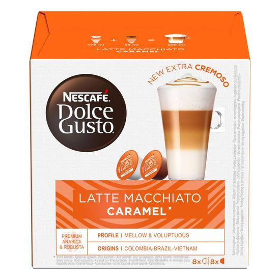 NESCAFÉ kawa w kapsułkach Dolce Gusto® Caramel Macchiato