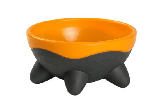 KIWI WALKER Miska UFO, pomarańczowa, 750 ml
