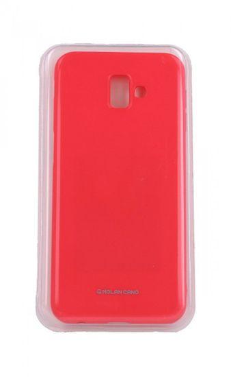Molan Cano Puzdro Molan Cano Jelly Samsung J6 + silikón ružový 35424
