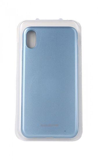 Molan Cano Puzdro Molan Cano Jelly iPhone XS Max silikón modrý svetlý 35114