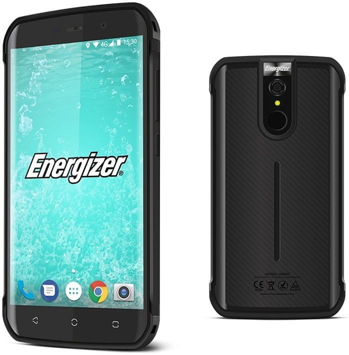 Energizer Hardcase Energy E520, 3GB/32GB, Black - zánovní