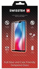SWISSTEN Sklo Full glue, color frame, case friendly, Samsung A405 Galaxy A40, černé (54501702)