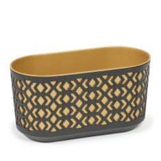 Lamela truhlík AZTEK 40 cm, zlatá