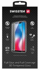 SWISSTEN steklo Ultra durable 3D Full Glue Glass za Apple iPhone XR, črno (64701799)