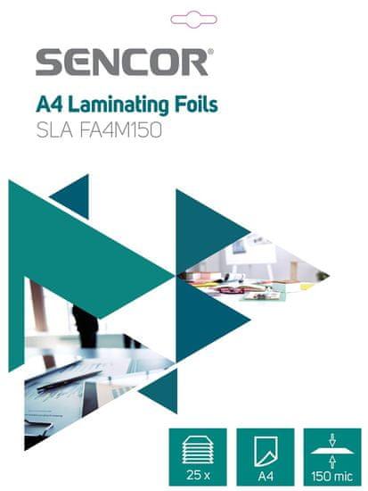 SENCOR Folia do laminowania SLA FA4M150