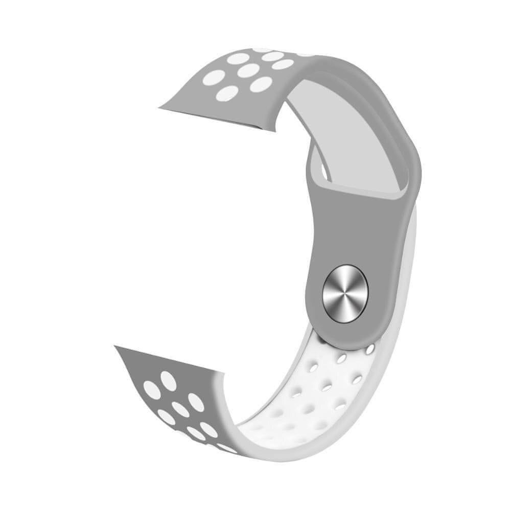 Immax Náhradní díl -řemínek pro Immax SW10 /SW13 šedo/bílý