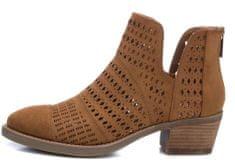 XTI dámská kotníčková obuv 49969 36 hnědá