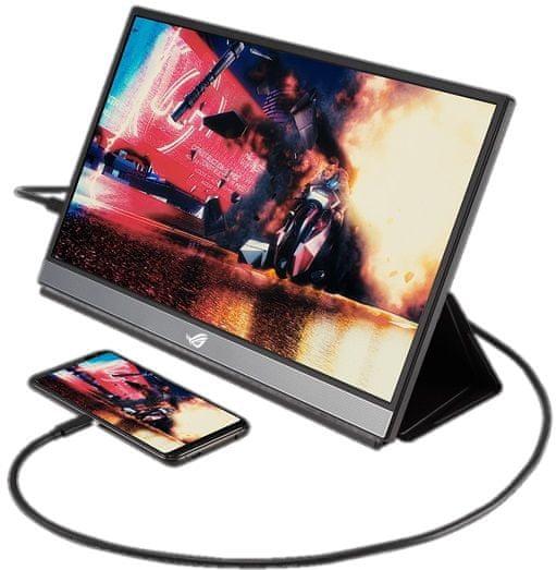 Asus ROG Strix XG17AHPE IPS FHD prenosni monitor (90LM05G1-B02170)