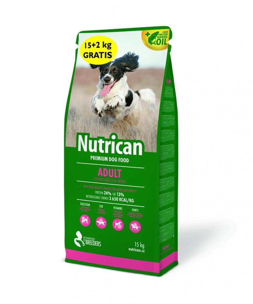 Nutrican Adult 15 kg + 2 kg