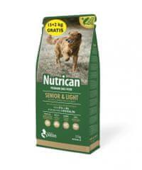 Nutrican Senior & Light 15 kg + 2 kg