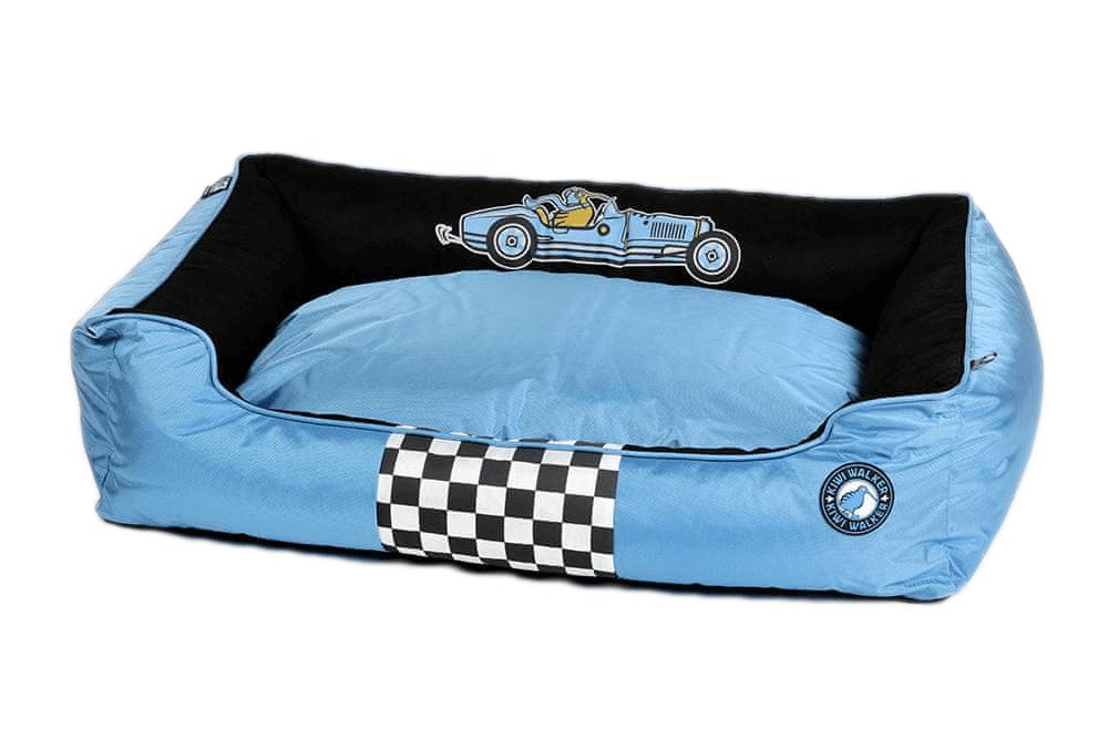 KIWI WALKER Racing Bugatti pelech z ortopedické pěny L, modrý