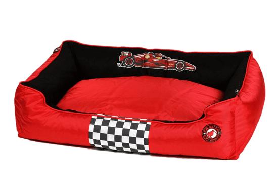 KIWI WALKER ovalni ležaj za psa Racing Formula, ortopedski dizajn od pjene