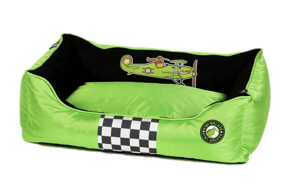 KIWI WALKER Racing Aero pelech z ortopedické pěny S, zelený