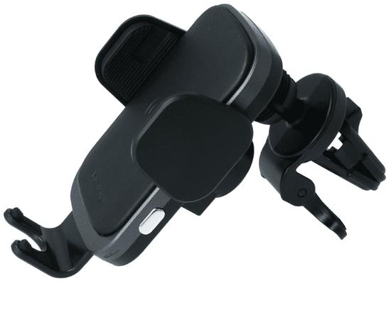 SWISSTEN Smart autószellőző-tartó konzol vezeték nélküli töltéssel 15W S-Grip W2-AV5 (65010606)