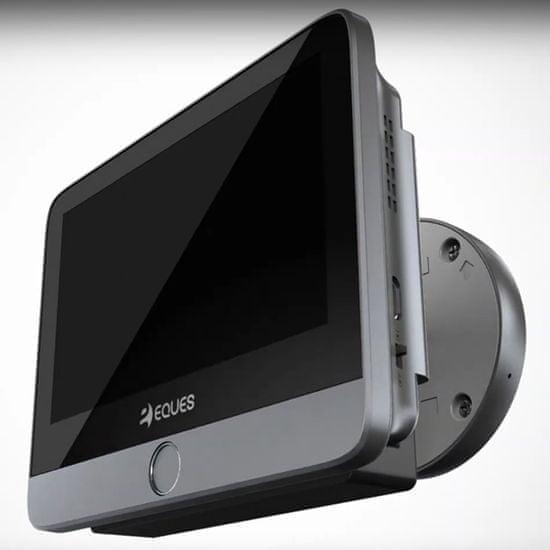 Eques Digitální dveřní Wi-Fi kukátko VEIU MINI 2 A27 (Gray)