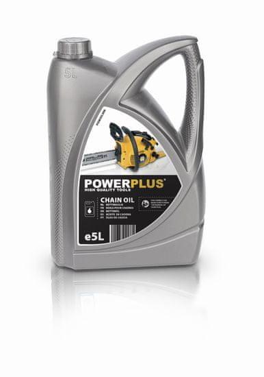 PowerPlus POWOIL006 - Olej na mazanie reťazov 5l