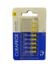 Curaprox Mezizubní kartáček Prime Refill 09 - 4,0 mm / žlutý 8 ks - náhrada