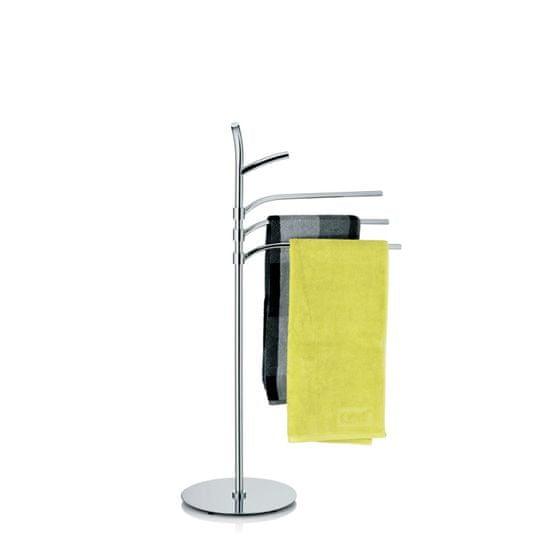 Kela stalak za ručnike Saltus, krom, 98,5 cm