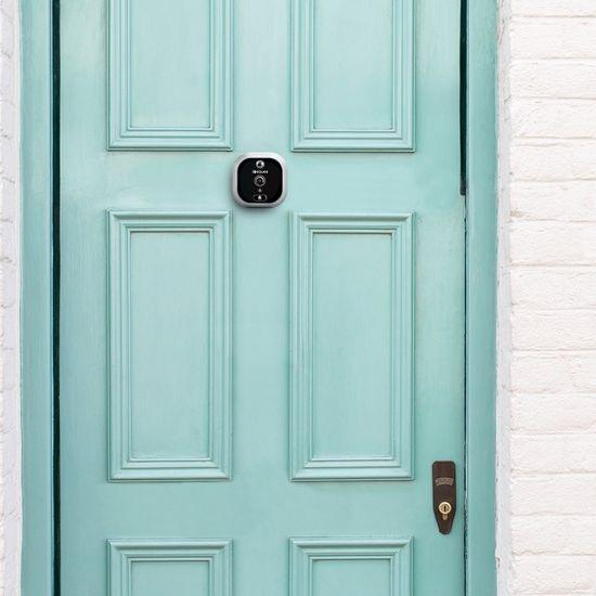 Eques Digitální dveřní kukátko GREETER PLUS R06 (Grey)