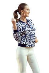 Numoco Ženska bluza 280-1, živalski potisk, S